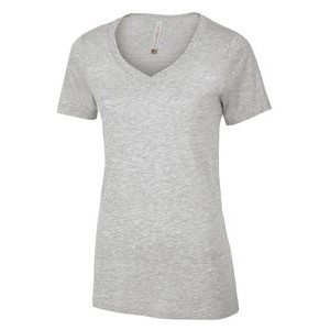 Ladies' ATC™ Eurospun® V-Neck Tee Shirt